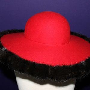 Carmen R. Henry Wide Brim Hat